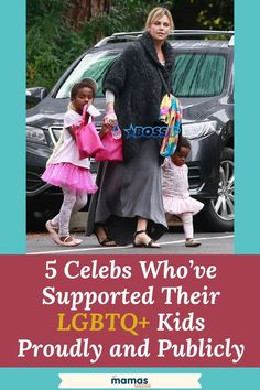 Pride month is here! We continue to celebrate the diversity of love & families by highlighting 4 celebs who've proudly and publicly supported their LGBTQ+ kids. #Celebs #LGBTQ #Pride #Gayparents