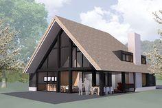 Dit vind ik ondanks het lichte dak zo toch wel een hele mooie kleuren combinatie!