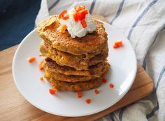 Pancakes de linte si legume