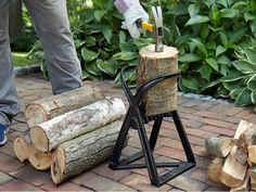 Kindling Splitter, Log Splitter, Indoor Outdoor Slippers, Cast Steel, Led String Lights, Innovation Design, Simple Designs, Cleaning Wipes, Backyard