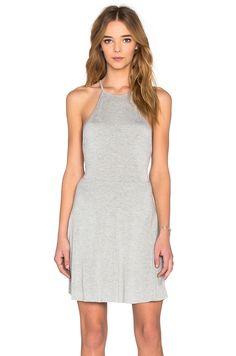 Clayton Beckett Dress in Heather Grey