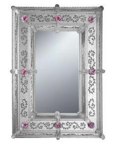 Beautiful Murano Glass Mirror