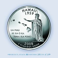 Hawaii Quarters With Extra Islands