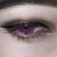 eyes, purple, and gothic image Aesthetic Eyes, Purple Aesthetic, Aesthetic Poetry, Grunge, Catty Noir, Yennefer Of Vengerberg, Ex Machina, Literature Club, Character Aesthetic