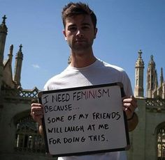 Want to hear what guys want to say about feminism and women's rights? Look to our pick of the best 40 quotes from men about women and feminism. Motivational Frases, Womens Rights Feminism, Feminist Quotes, Feminist Men, Feminist Issues, Equal Rights, Women's Rights, Human Rights, Protest Signs