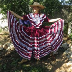Check out this item in my Etsy shop https://www.etsy.com/listing/248029855/vintage-folklorico-cinco-de-mayo