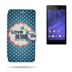 Card Dibujo SE Xperia T3 Love Design