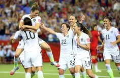 WE ARE AMERICA!  U.S. women's soccer team defeats Japan in World Cup final 5-2