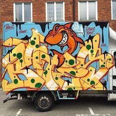 BATES _______________________ #madstylers #graffiti #graff  #style #colorful #stylewriting #summer #sprayart #graffitiart