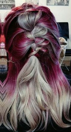 Unique Coolest Hair Color