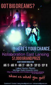 Kollaboration East Lansing Auditions