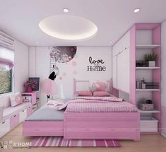 Teen Girl Bedrooms, decor designs to strive for one super bright bedroom decor. Kindly stop by the webpage number 8047703463 this instant for additional styling. Cute Bedroom Ideas, Cute Room Decor, Girl Bedroom Designs, Baby Decor, Design Bedroom, Small Room Bedroom, Baby Bedroom, Bedroom Decor, Bedroom Kids