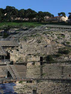 CagliariRomanAmphytheater_CadelSol_Cagliari_B, via Flickr. #InvasioniDigitali il 22 aprile alle ore 16 Invasore: Wunderkammer