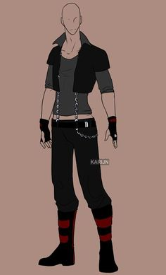 This is a good outfit for Jax, just a little skinnier and shorter