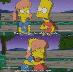 Ohhhh q lindo😂😂😂😂 Simpsons Frases, Dont Love Me, Dear Future Husband, Love Phrases, Sad Life, True Feelings, The Simpsons, Love Messages, Sad Quotes