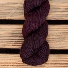 Hand dyed Superwash Merino with Silk and Yak in DK weight. Knitting Yarn, Knitting Patterns, Raspberry Sorbet, Baby Elephant, Merino Wool, Pattern Design, Passion, Purple, Prints