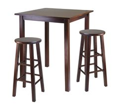Fresh Round Wooden Bar Tables