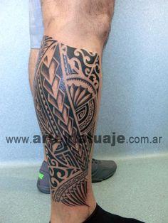 Polinesian Tattoo