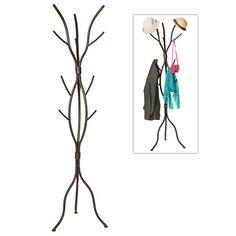 Modern Tree Branch Black Metal Freestanding Entryway Coat Hanger Stand / Hallway Garment Rack - MyGift® MyGift http://www.amazon.com/dp/B0125Q66HW/ref=cm_sw_r_pi_dp_flj6wb0J7E7E4