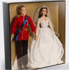 Prince William & Kate Royal Wedding Barbie Collectible