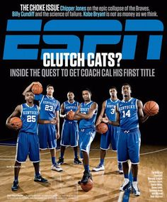 team 2011-2012 on cover of espn #BBN