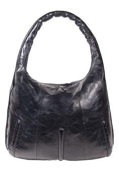 """""""Liv"""" große Tasche in vintage schwarz"""