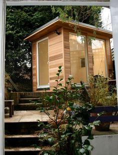 compact garden office pod
