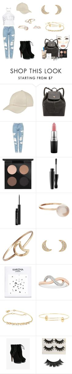 """happy june!!"" by femalerebell ❤ liked on Polyvore featuring Lydia Bright, MCM, Topshop, MAC Cosmetics, Sophie Bille Brahe, Stefanie Sheehan Jewelry, Suzanne Kalan, Delfina Delettrez and Alaïa"