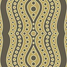 STRIPED – Retro-stripes of circles and waves decorate the Design-Kiosk. Retro Stil, Kiosk, Circles, Pattern Design, Waves, Stripes, Home Decor, Decoration Home, Room Decor