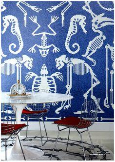 bisazza perished blue #bisazza #Italian #Mosaic #Tile