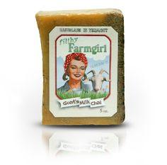 Goats Milk Chai soap!