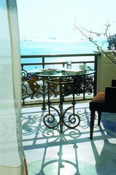 Electra Palace Thessaloniki Executive Suite balcony