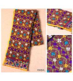 Phulkari Multicoloured Stole
