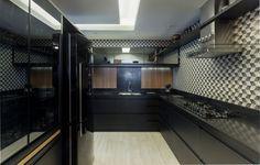 Cozinha All Black | Projeto Ana Trevisan Arquitetura e Paisagismo Florianópolis - SC