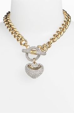 Juicy Couture Heart Pendant necklace | Nordstrom