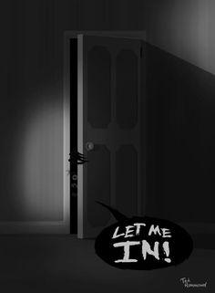 Let me In! The Babadook Horror Quotes, Horror Posters, Horror Themes, Horror Stories, Indie Pop, The Babadook, Best Horror Movies, Horror Film, Creepy