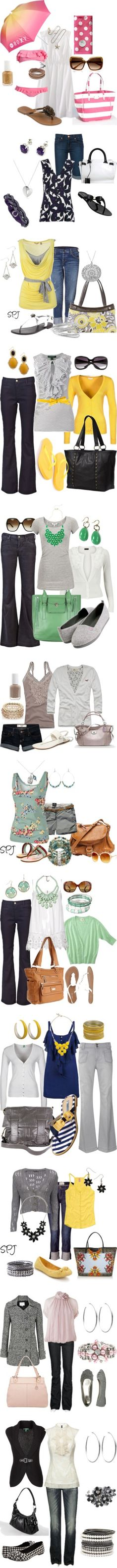 """""""busy mom"""" by reneegaud on Polyvore"""