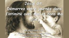Jésus dit… Démarrez votre journée dans l'intimité avec Moi et dans Ma jo...