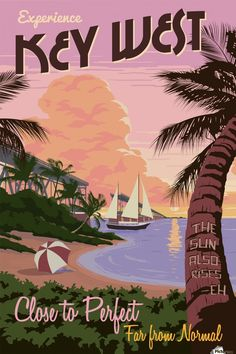 Choose your favorite key west drawings from millions of available designs. All key west drawings ship within 48 hours and include a money-back guarantee. Poster Retro, Poster S, Retro Print, Key West Florida, Florida Keys, Florida Usa, Vintage Florida, Vintage Hawaii, Photo Vintage