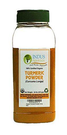 Indus Organic Turmeric (Curcumin) Powder Spice Pack 1 Lb, High Purity, Freshly Packed - https://spicegrinder.biz/indus-organic-turmeric-curcumin-powder-spice-pack-1-lb-high-purity-freshly-packed/