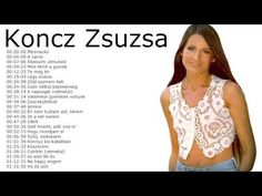 Koncz Zsuzsa - Nagy válogatás (24 dal) CSIRIBIRI 1970 - 1988 Hungary, Music Videos, Singing, Film, My Love, Youtube, Rock, Classic, Movie
