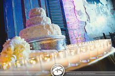 French Quarter wedding reception at La Louisiane - Hotel Mazarin www.lalouisiane.com, www.hotelmazarin.com Credit: Brandon O'Neal Photography
