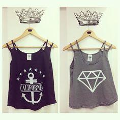 Top's perfectos para el verano #california #diamond