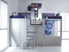 Mezzanine with profile configuration 312 | Tumidei
