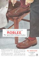 Roblee Mercury Shoes 1956 Ad Picture