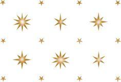 Multi-Sized Star Wallpaper Wall Stencil