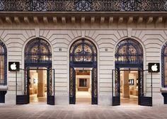 Самые красивые в мире магазины Apple. (12 фото)