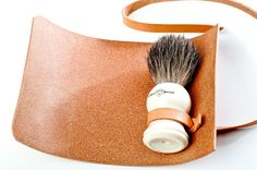 Kenton Sorenson Shaving Brush Leather Roll