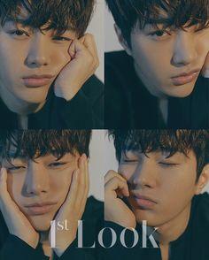 L/Myungsoo of Infinite for Look Korean Boys Hot, Kim Myungsoo, Lee Sungyeol, Kim Sung Kyu, Nam Woo Hyun, Look Magazine, Park Hyung Sik, Woollim Entertainment, Jessica Jung