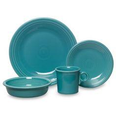Fiesta® Turquoise Dinnerware and Serveware - BedBathandBeyond.com